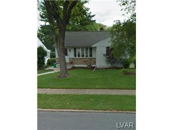 Rental Homes for Rent, ListingId:29618021, location: 1025 n 26th Allentown 18104