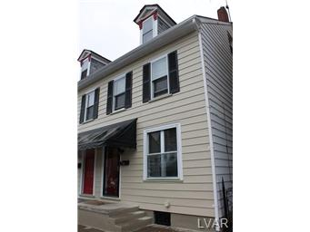 Rental Homes for Rent, ListingId:29653523, location: 1218 Washington Street Easton 18042