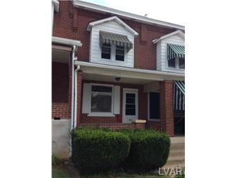 Rental Homes for Rent, ListingId:29850350, location: 847 North 13Th Street Allentown 18102