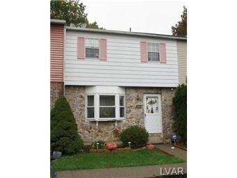 Rental Homes for Rent, ListingId:29883602, location: 5593 Wedge Lane Allentown 18106