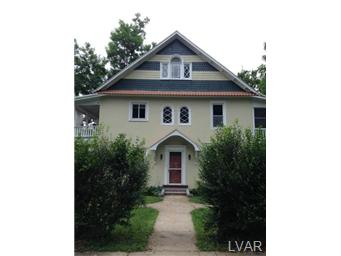 Rental Homes for Rent, ListingId:30956160, location: 139 Parker Avenue Easton 18042