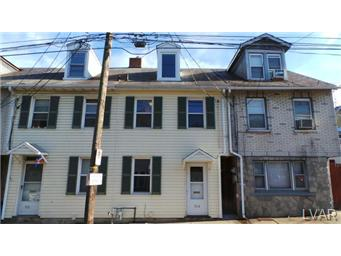 Rental Homes for Rent, ListingId:29915658, location: 514 West Berwick Street Easton 18042