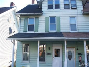 Rental Homes for Rent, ListingId:29927549, location: 1014 Seneca Street Bethlehem 18015
