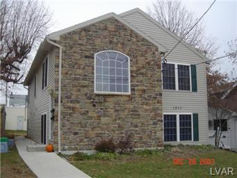 Rental Homes for Rent, ListingId:29956455, location: 1011 South Lumber Street Allentown 18103