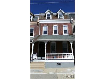 Rental Homes for Rent, ListingId:29970350, location: 139 North 10th Street Allentown 18102