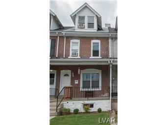 Real Estate for Sale, ListingId: 29985028, Bethlehem,PA18018