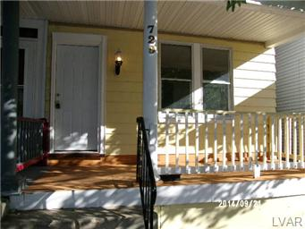 Rental Homes for Rent, ListingId:30010510, location: 729 Jackson Street Easton 18042