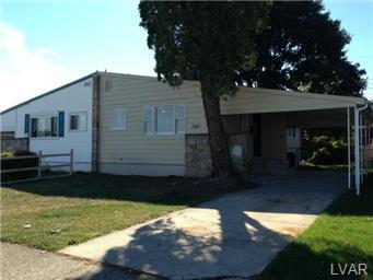 Rental Homes for Rent, ListingId:30956162, location: 1521 Elayne Street Bethlehem 18017