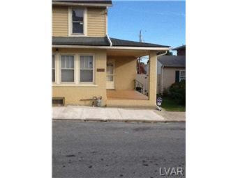 Rental Homes for Rent, ListingId:30053092, location: 1911 East Tremont Street Allentown 18109