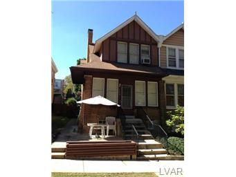 Rental Homes for Rent, ListingId:30064580, location: 428 North 22Nd Street Allentown 18104