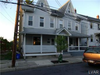 Rental Homes for Rent, ListingId:30087580, location: 615 West Wilkes Barre Street Easton 18042