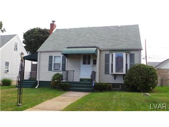 Rental Homes for Rent, ListingId:30102879, location: 1818 Campbell Street Bethlehem 18017