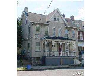 Rental Homes for Rent, ListingId:30144542, location: 714 High Street Bethlehem 18018