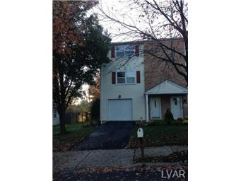 Rental Homes for Rent, ListingId:30163809, location: 1531 Ravena Street Bethlehem 18015
