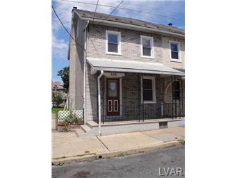 Rental Homes for Rent, ListingId:30206062, location: 226 Church Street Catasauqua 18032