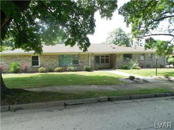Rental Homes for Rent, ListingId:30245541, location: 3020 West Chew Street Allentown 18104
