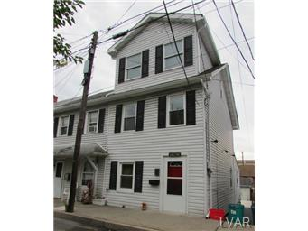 Rental Homes for Rent, ListingId:30259426, location: 1012 Railroad Street Catasauqua 18032