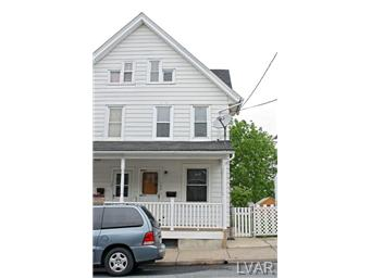 Rental Homes for Rent, ListingId:30279217, location: 123 East Ettwein Street Bethlehem 18018