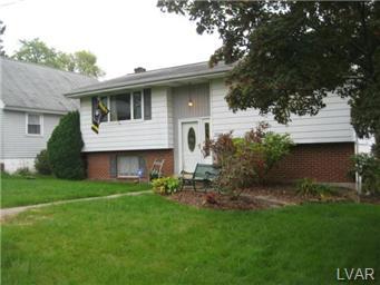 Rental Homes for Rent, ListingId:30293804, location: 2504 Shaler Street Allentown 18103