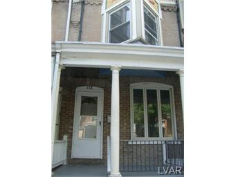 Rental Homes for Rent, ListingId:30293752, location: 138 South 12 Street Allentown 18102