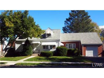 Rental Homes for Rent, ListingId:30351628, location: 2212 Worthington Avenue Bethlehem 18017