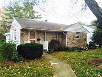 Rental Homes for Rent, ListingId:30370636, location: 1029 26Th Street Allentown 18104