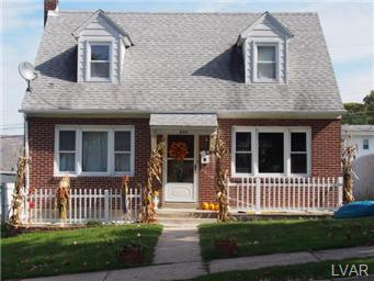 Rental Homes for Rent, ListingId:30370624, location: 625 Dorothy Avenue Bethlehem 18015