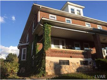 Rental Homes for Rent, ListingId:30390689, location: 603 Wyandotte Street Bethlehem 18015