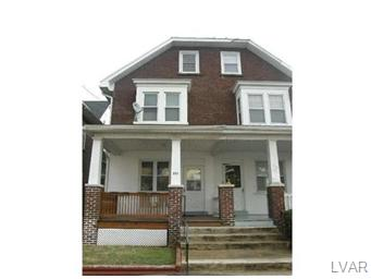 Rental Homes for Rent, ListingId:30416321, location: 712 5th Avenue Bethlehem 18018
