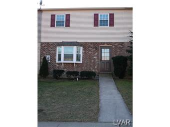 Rental Homes for Rent, ListingId:30429671, location: 322 Tupelo Court Allentown 18104
