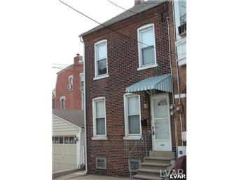 Rental Homes for Rent, ListingId:30440339, location: 208 North Hall Street Allentown 18102