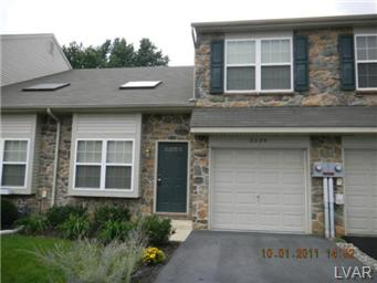 Rental Homes for Rent, ListingId:30447449, location: 5539 Stonecroft Lane Allentown 18106