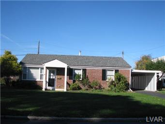Rental Homes for Rent, ListingId:30484045, location: 3055 Marshall Street Allentown 18103