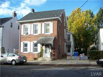 Rental Homes for Rent, ListingId:30524222, location: 131 East North Street Bethlehem 18018