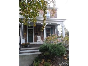 Rental Homes for Rent, ListingId:30530192, location: 254 East Wall Street Bethlehem 18018