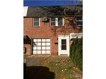Rental Homes for Rent, ListingId:30546908, location: 695 Dixon Street Allentown 18103