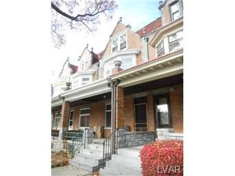 Rental Homes for Rent, ListingId:30561897, location: 1621 West Turner Street Allentown 18102