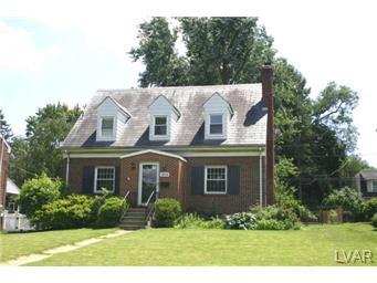 Rental Homes for Rent, ListingId:30561792, location: 1935 West Union Boulevard Bethlehem 18018