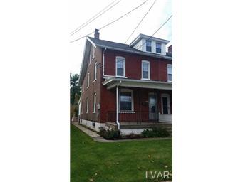 Rental Homes for Rent, ListingId:30607641, location: 326 East State Street Coopersburg 18036