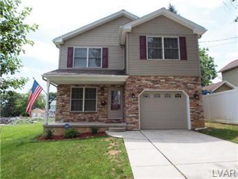 Rental Homes for Rent, ListingId:30607938, location: 307 Peach Street Catasauqua 18032