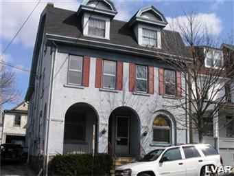 Rental Homes for Rent, ListingId:30607385, location: 527 Wyandotte Street Bethlehem 18015