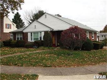 Rental Homes for Rent, ListingId:30607293, location: 2304 Montgomery Street Bethlehem 18017
