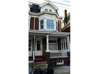 Rental Homes for Rent, ListingId:30634155, location: 134 South Franklin Street Allentown 18102