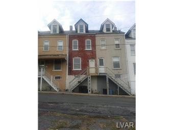 Rental Homes for Rent, ListingId:30634150, location: 407 Max Street Allentown 18103