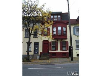 Rental Homes for Rent, ListingId:30672450, location: 814 West Walnut Street Allentown 18102