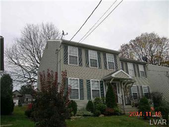 Rental Homes for Rent, ListingId:30696986, location: 1614 MONOCACY Street Bethlehem 18018