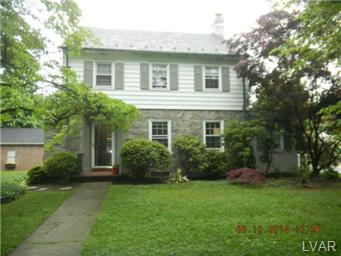Rental Homes for Rent, ListingId:30709712, location: 2729 West Allen Street Allentown 18104