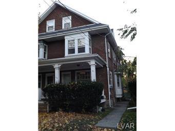 Rental Homes for Rent, ListingId:30725278, location: 719 5th Avenue Bethlehem 18018