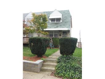 Rental Homes for Rent, ListingId:30734512, location: 2016 Baker Drive Allentown 18103