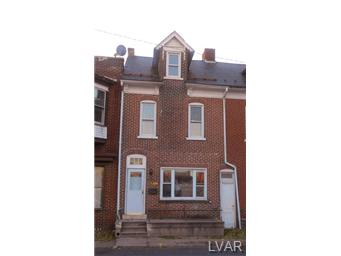 Rental Homes for Rent, ListingId:30745983, location: 528 North 10th Street Allentown 18102